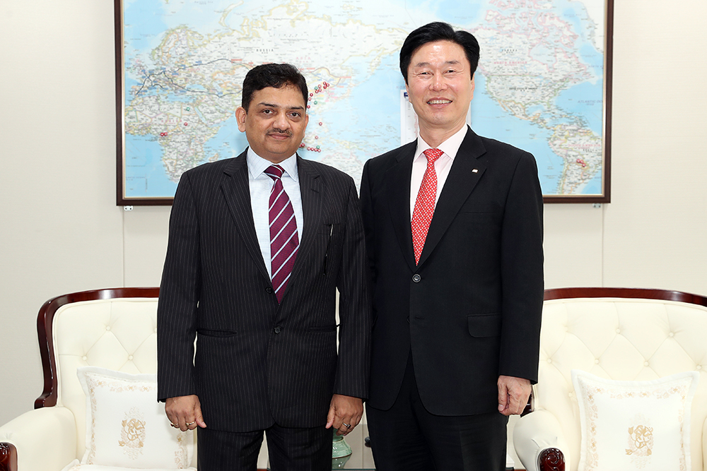 Managing Director of India's NCRTC invited to discuss railway cooperation 사진