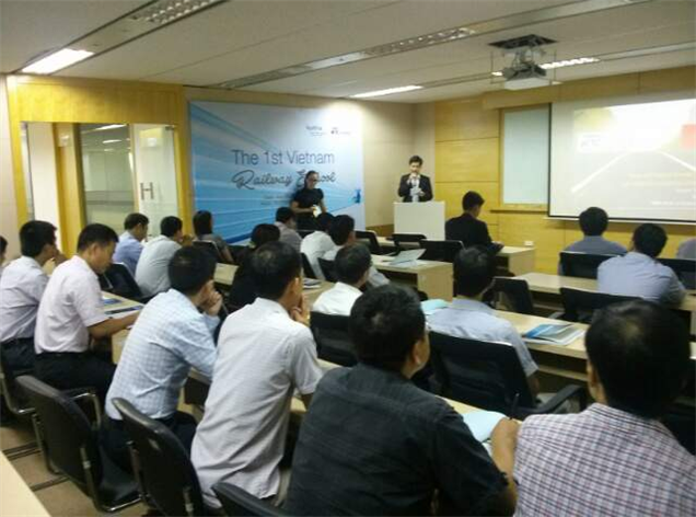 Korea Rail Network Authority imparted railway construction know-how through the railway school in Vietnam 사진