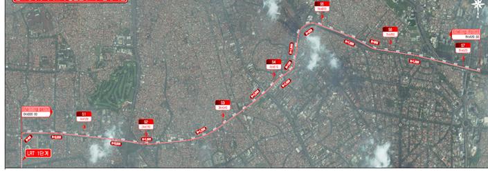 Jakarta LRT 2nd Phase Project Main F/S