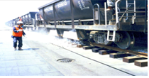 Laying of ballast gravel [Track1] Image